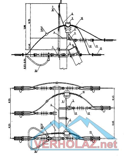Схема расположения угловой